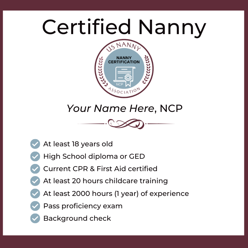Certified Nanny Name