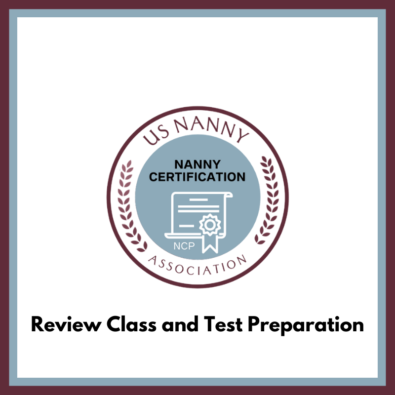 logo for Certified Nanny review class