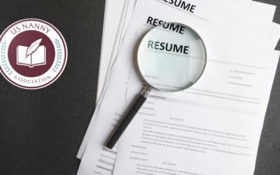 Modernize Your Nanny Resume