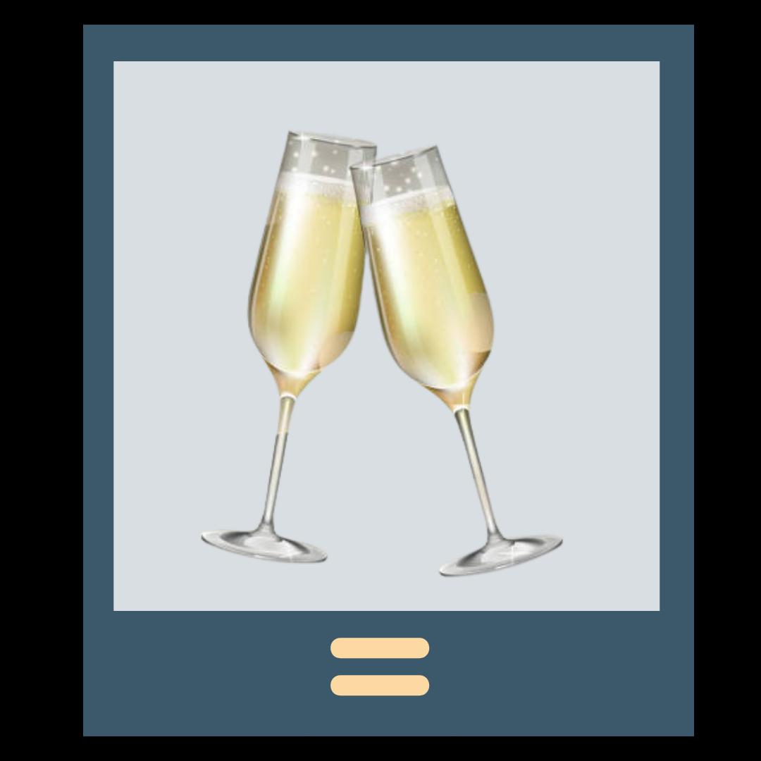 champaign glasses