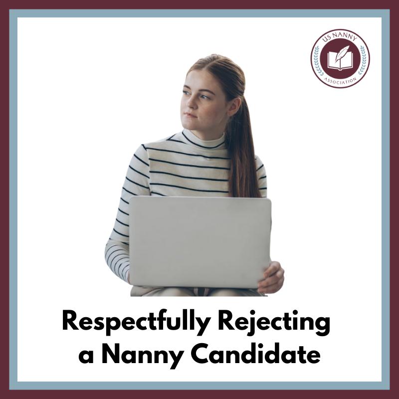 Nanny using a computer