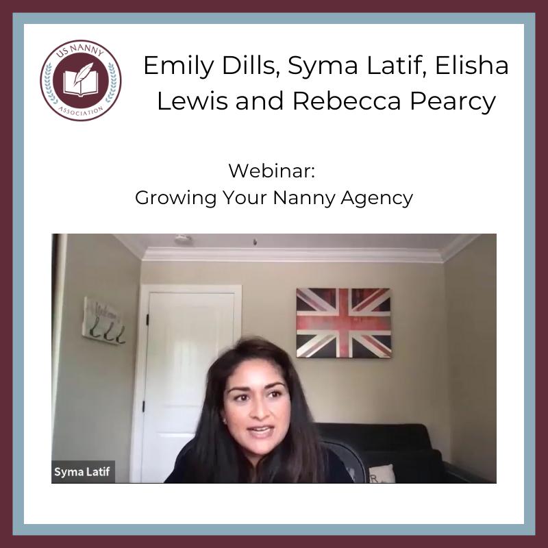 seminar promo for grow your nanny agency